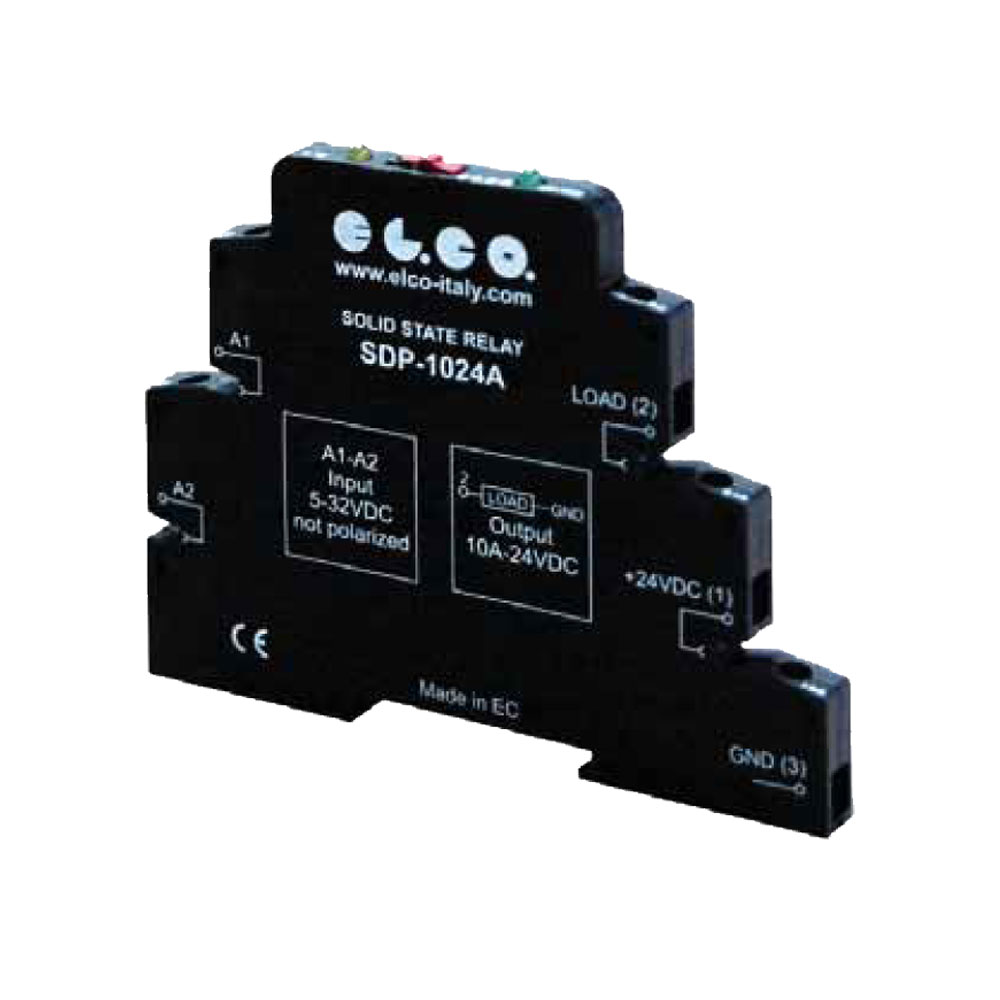 Elco Solid State Relays -  SDP/SAP Series