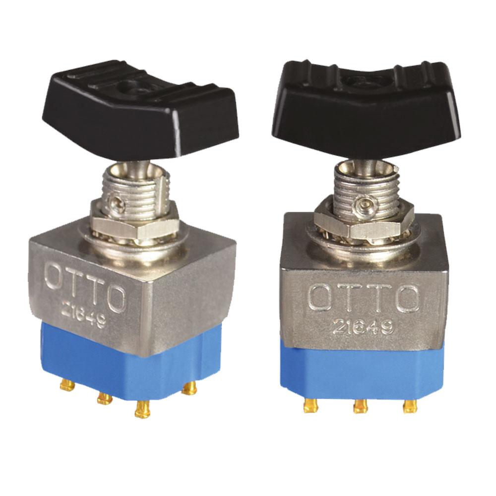 OTTO T3-7  Miniature Toggle with Rocker Button