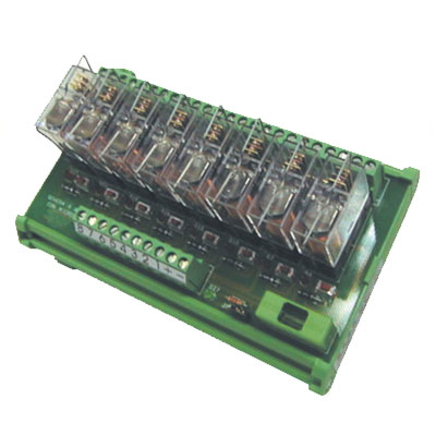 Elco Electromechanical Relay with Test Push Buttons - RM Series