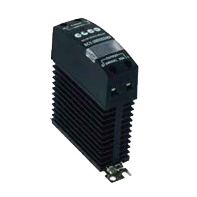 Elco 1 Phase Solid State Relay with Heat Sink - SC1-30D Series