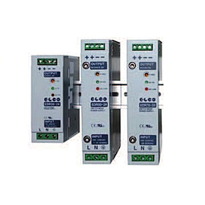 Elco Mains Switching Power Supplies - EDR 30-50-70 Series