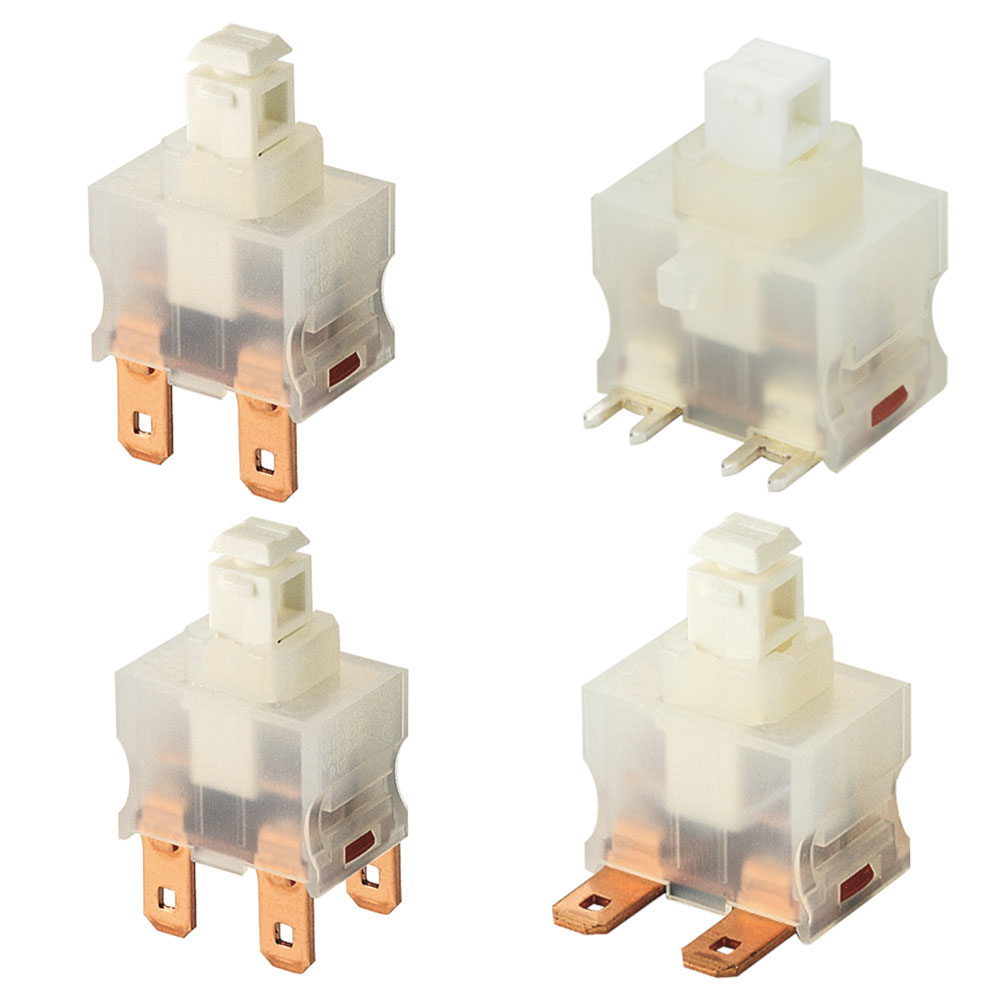 Marquardt Single & Double Pole Pushbutton Switches - Series 1680