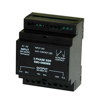 Elco 3 Phase Solid State Relays - SM3 Series
