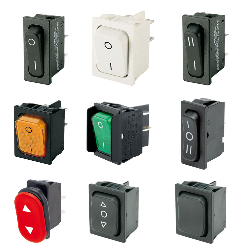 Marquardt Rocker Switches - Series 1830