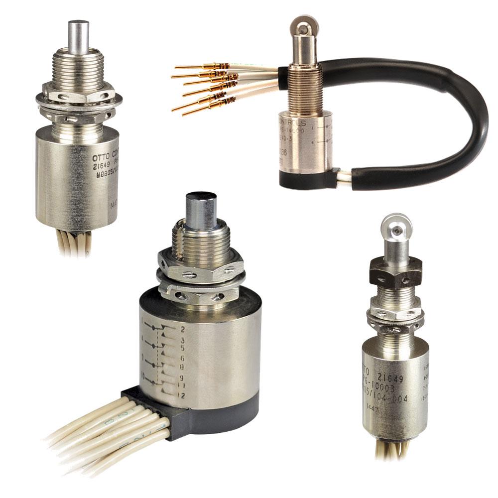 OTTO P6 Subminiature Sealed Switches (Single Pole)