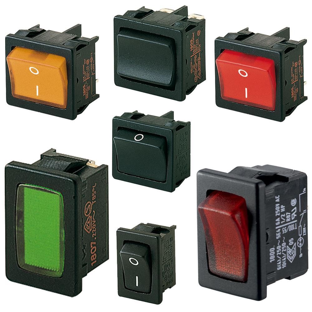 Marquardt Rocker Switches - Series 1800