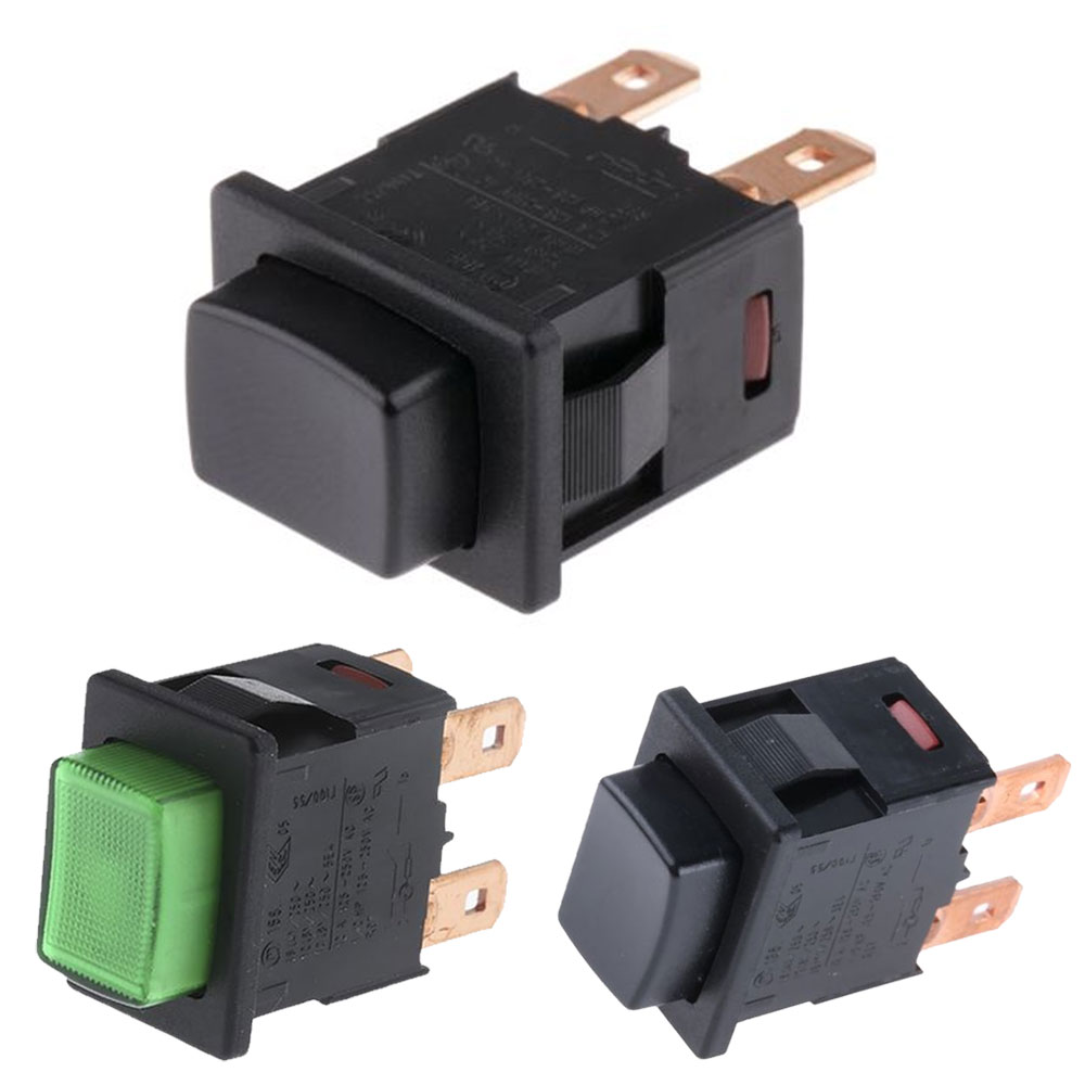 Marquardt Single & Double Pole Pushbutton Switches - Series 1683