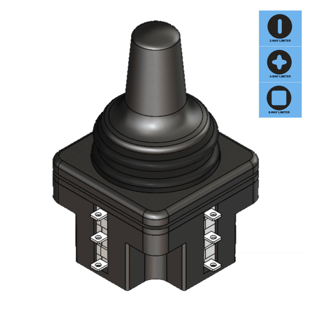 Ruffy SS2 Fingertip Limit Switch Joystick Range