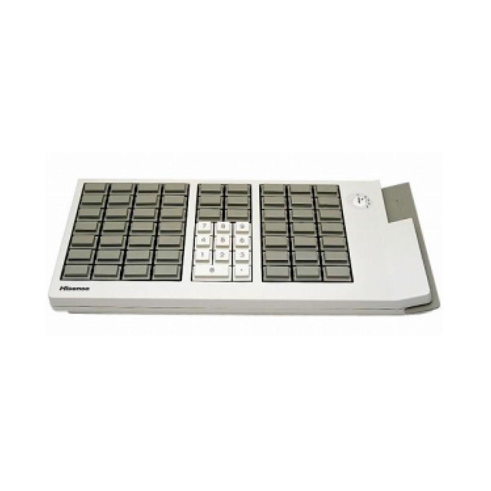 Active Key AK-189 66 Key POS Keyboard with MSR Reader & Key Lock