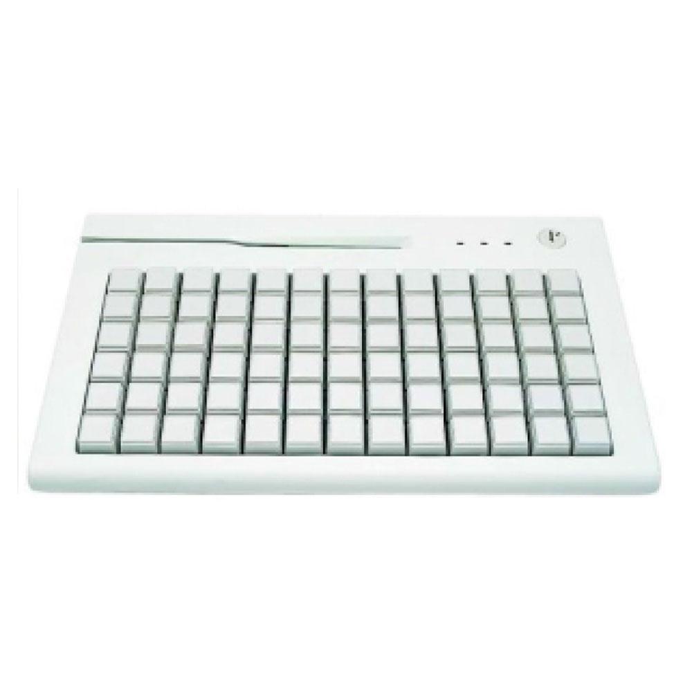 AK-189 78 Key POS Keyboard with MSR Reader & Key Lock