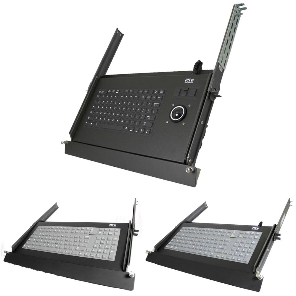 CTI Rackmount Industrial Keyboard Range
