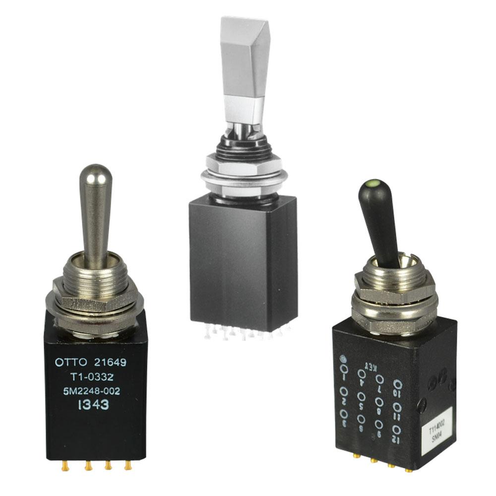 OTTO T1 Sealed Toggle Switch Range